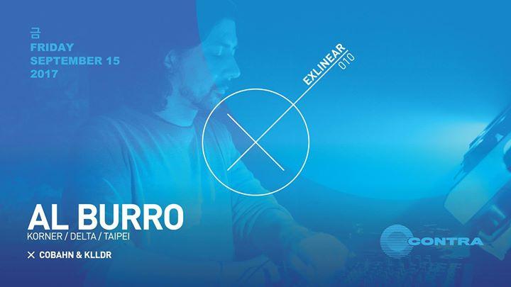 Exlinear: Al Burro (Korner / Delta / Taipei) at Contra