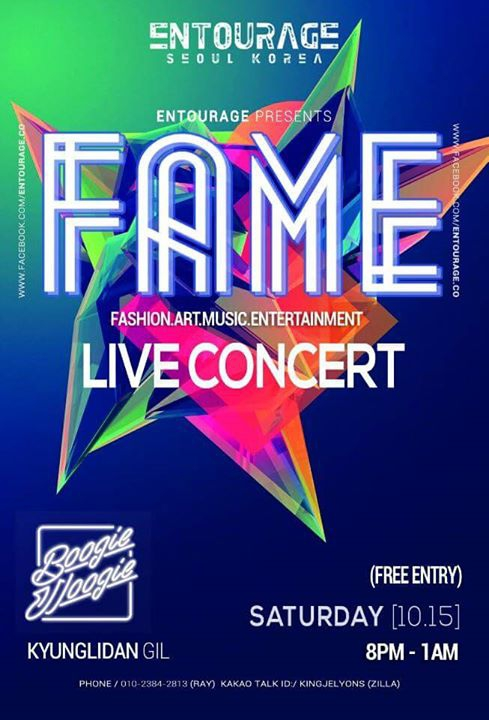 FAME LIVE in Kyunglidan