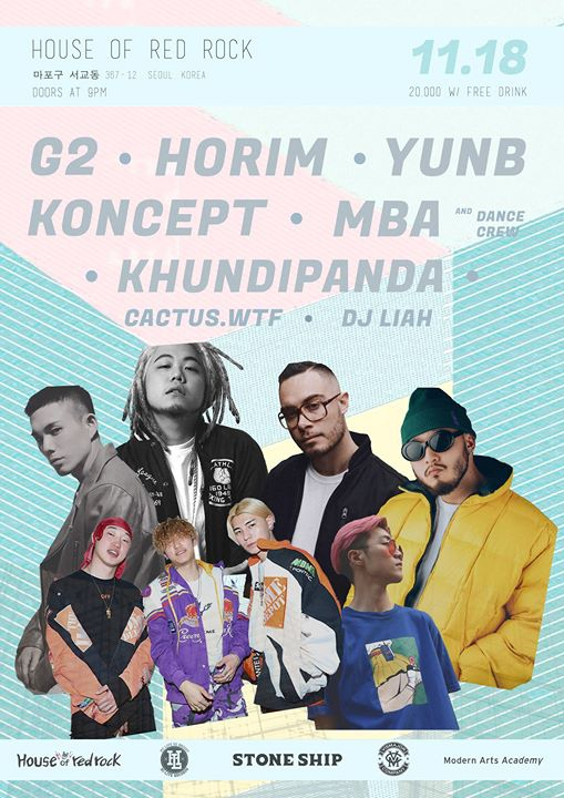 G2 Koncept YunB Horim & more at House of Red Rock