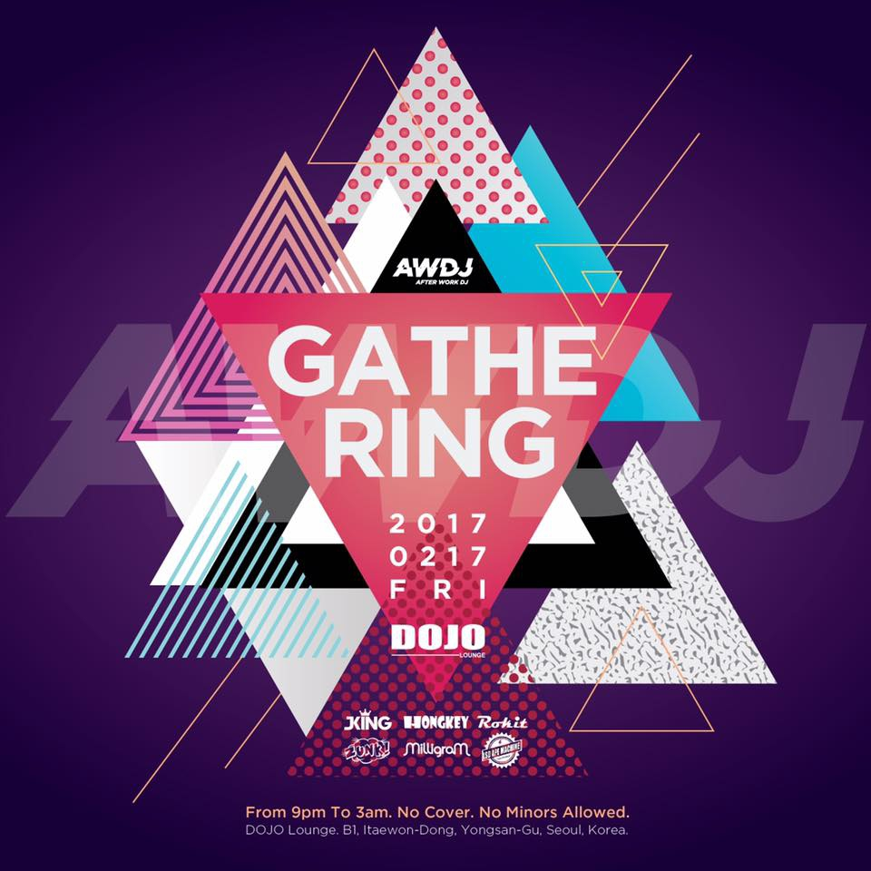 Gathering Vol.01] Presented by AWDJ