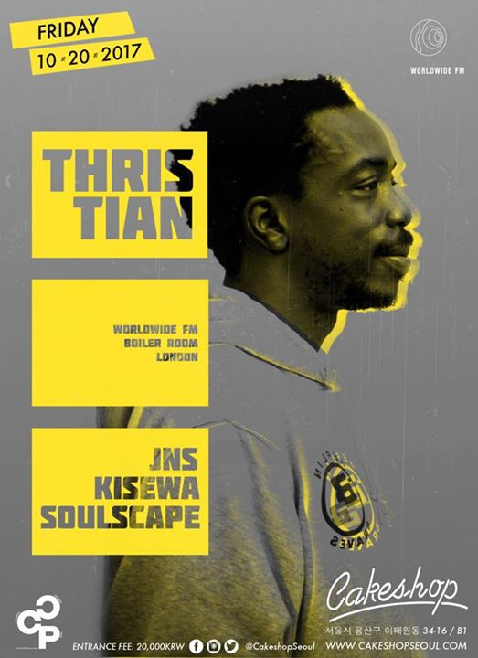 Global Roots w/ Thris Tian (Boiler Room/WWFM/London) at Cakeshop