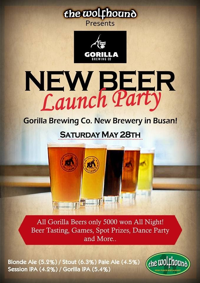 Gorilla Brewing Co. Launch Party, Seoul