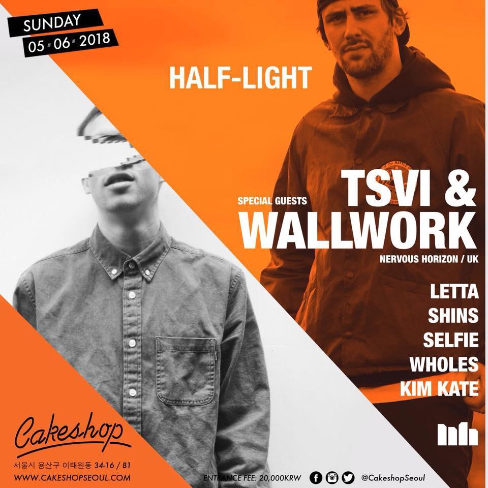 Half-Light w/ TSVI & Wallwork (Nervous Horizon/UK)