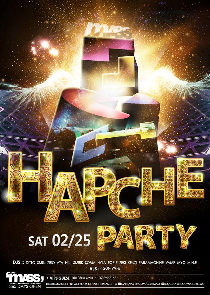 HAPCHE PARTY