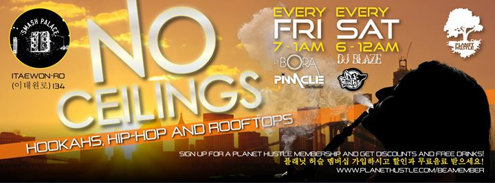 Hookahs, Hip Hop & Rooftops - Saturday