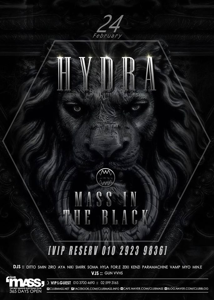 HYDRA PARTY at Club Mas