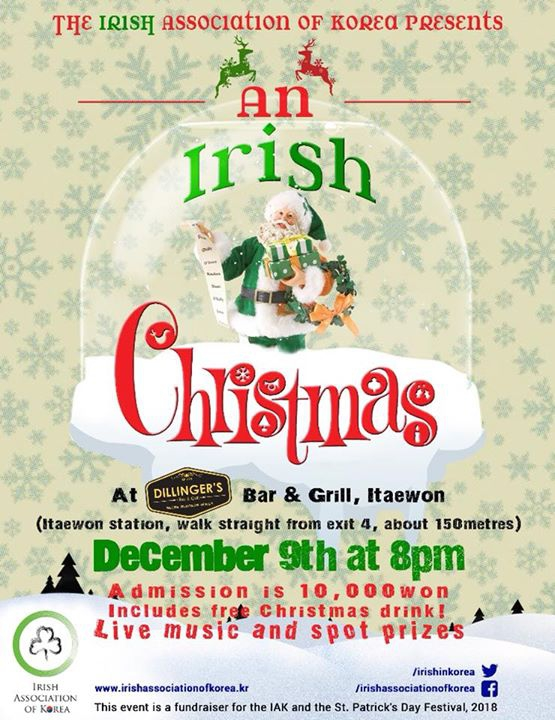 Irish Association of Korea Christmas party