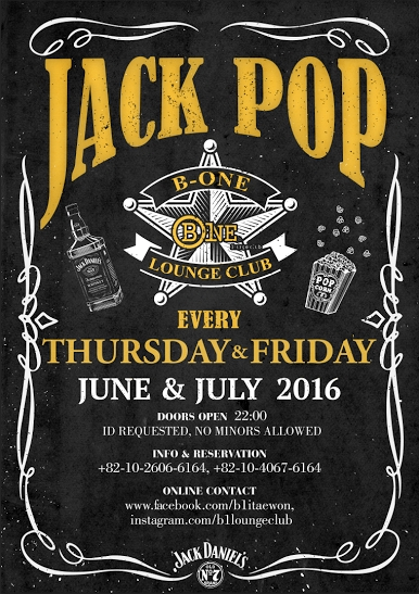 Jack Pop at B One Lounge Club