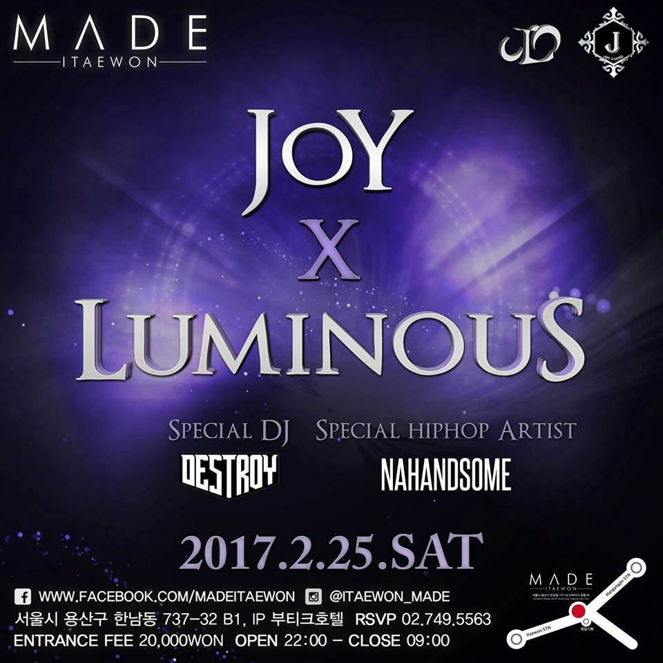 JOY X LUMINOUS Collaboration PARTY