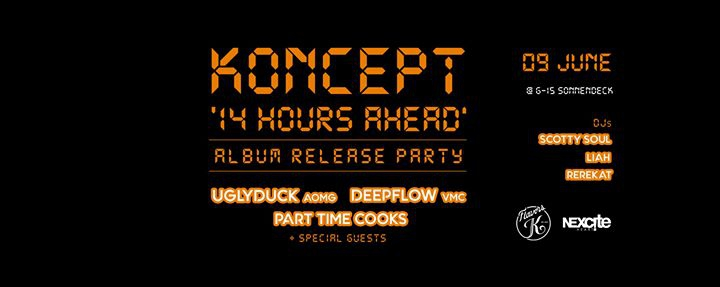 KONCEPT - 14 Hours Ahead Album Release Party