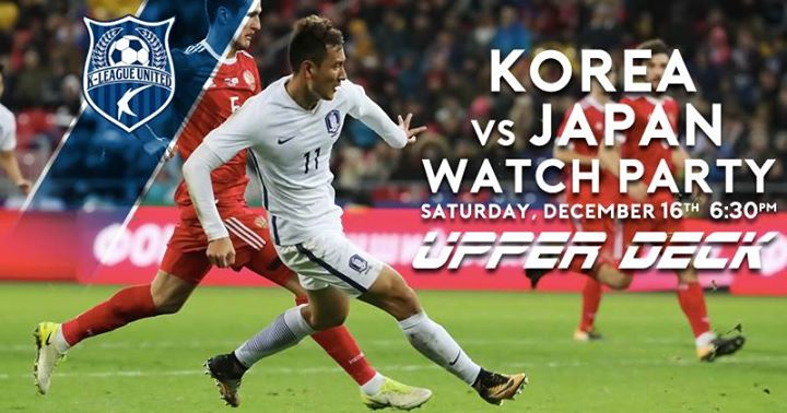 Korea vs Japan Watch Party