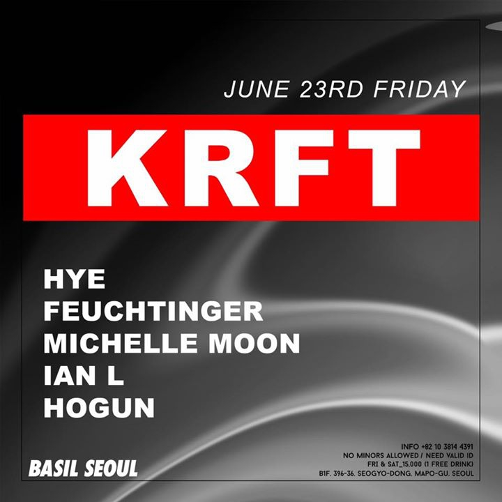 KRFT at Basil (Hapjeong)