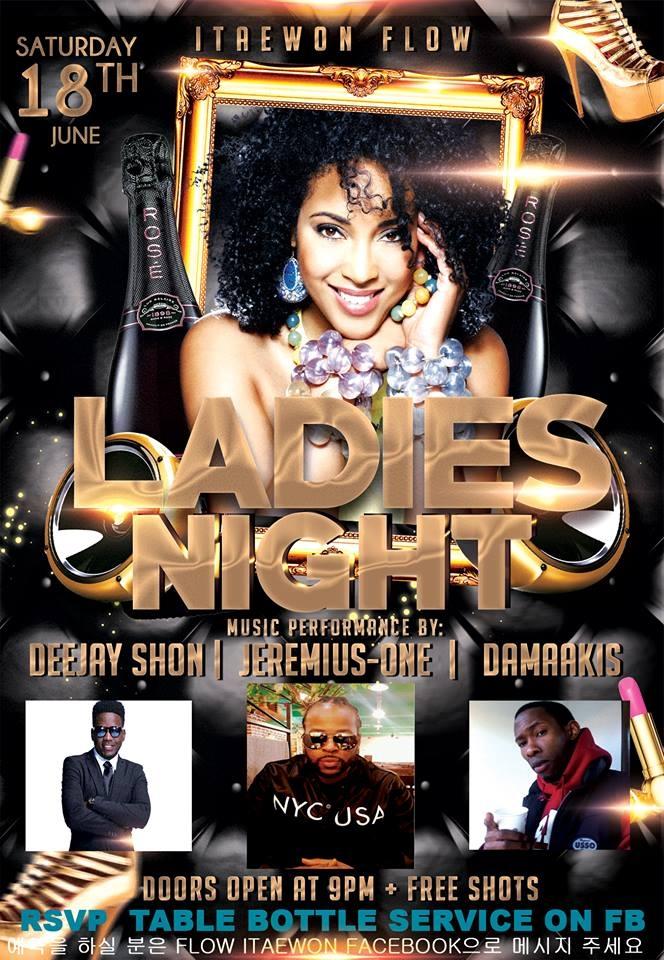 Ladies Night at Club Lux