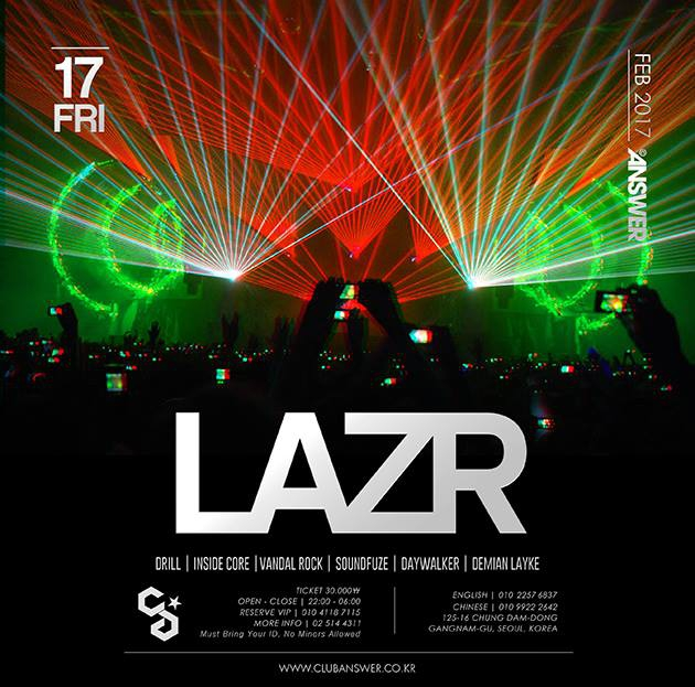 LAZR at Club Answer