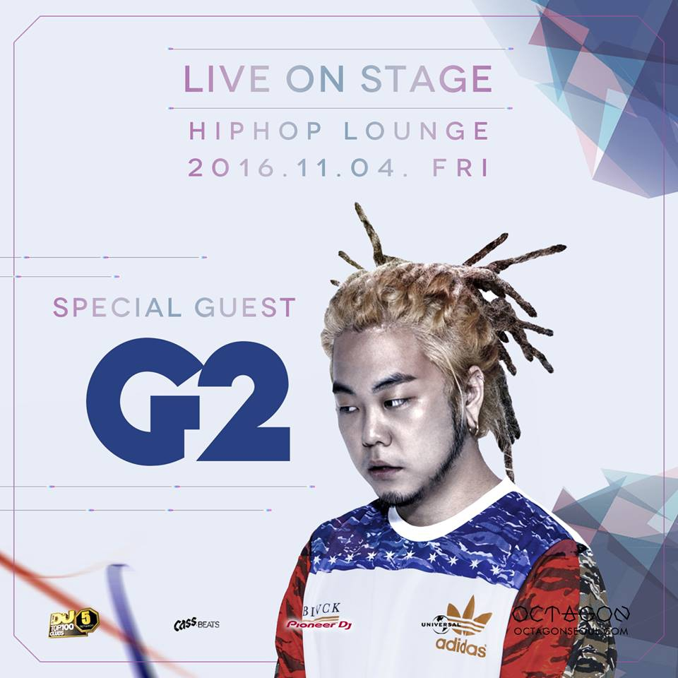 Live on stage artist is G2!
