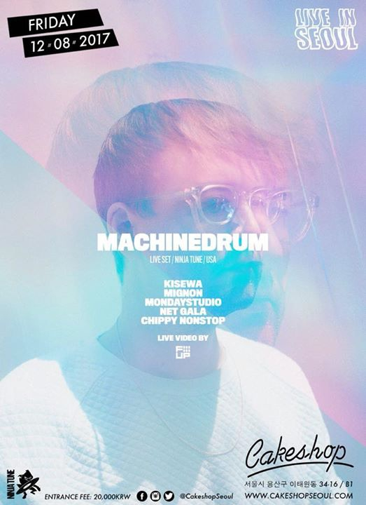 Machinedrum LIVE (Ninja Tune/USA) at Cakeshop