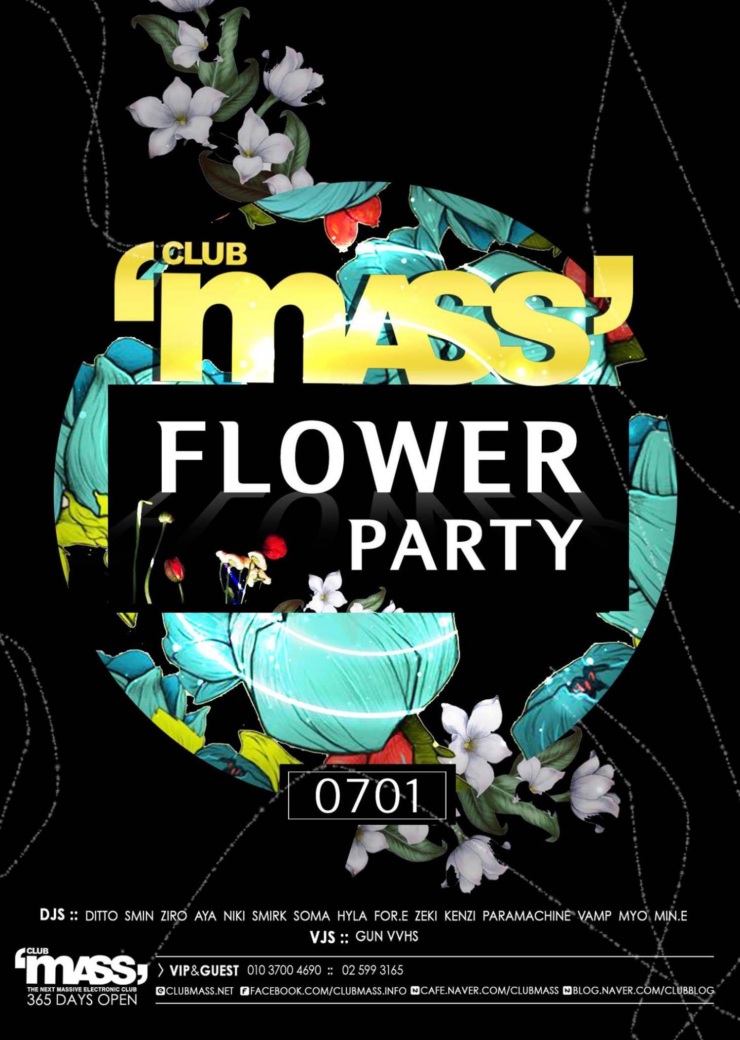 MASS FLOWER PARTY~!