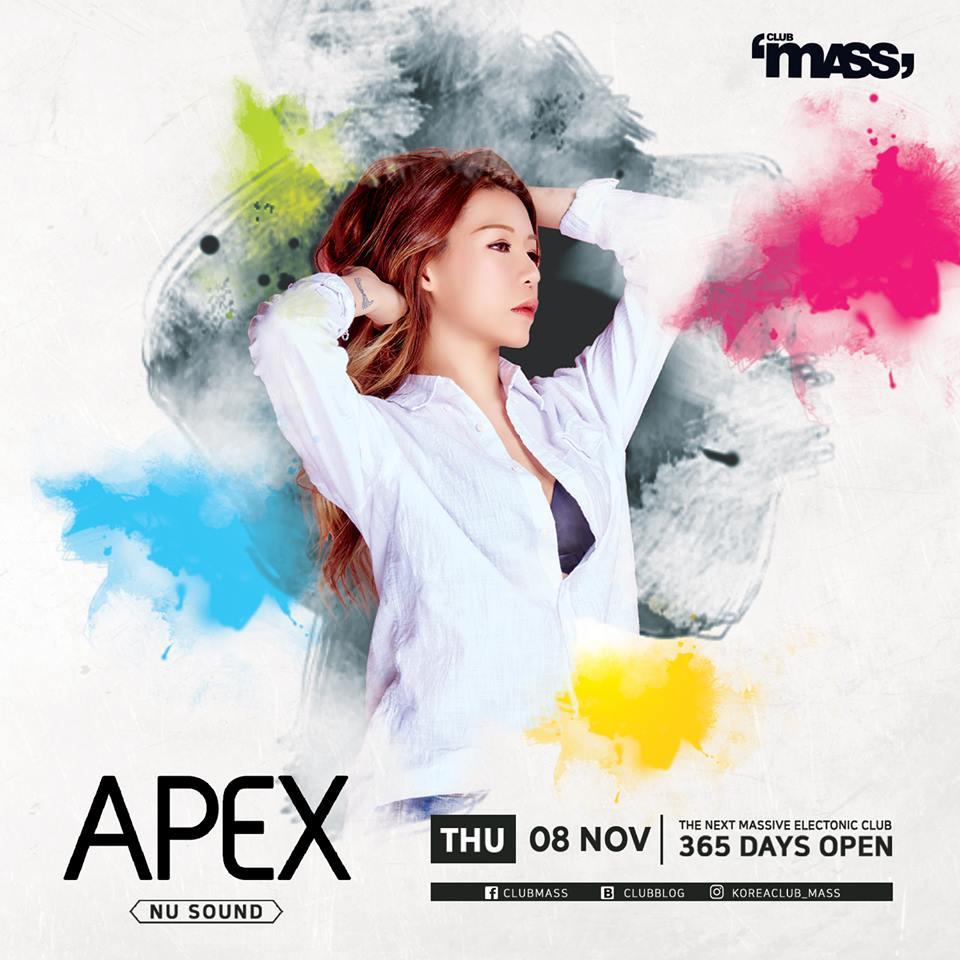 MASS NU SOUND PARTY [ DJ APEX ]