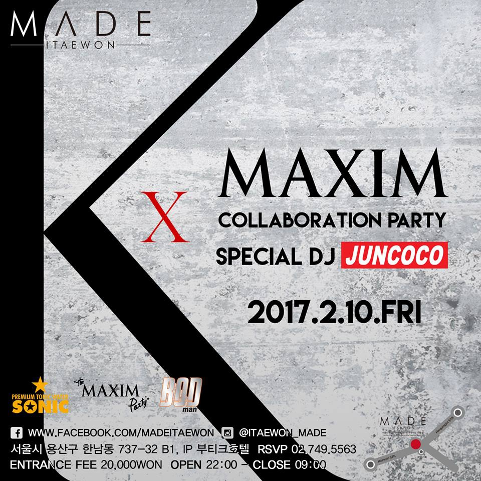 Maxim Collaboration Party