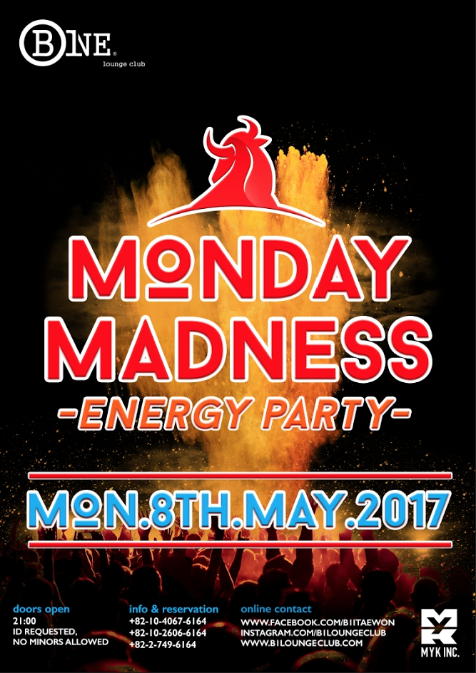 Monday Madness - Energy Party