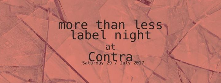 More than less label night 05. Seoul