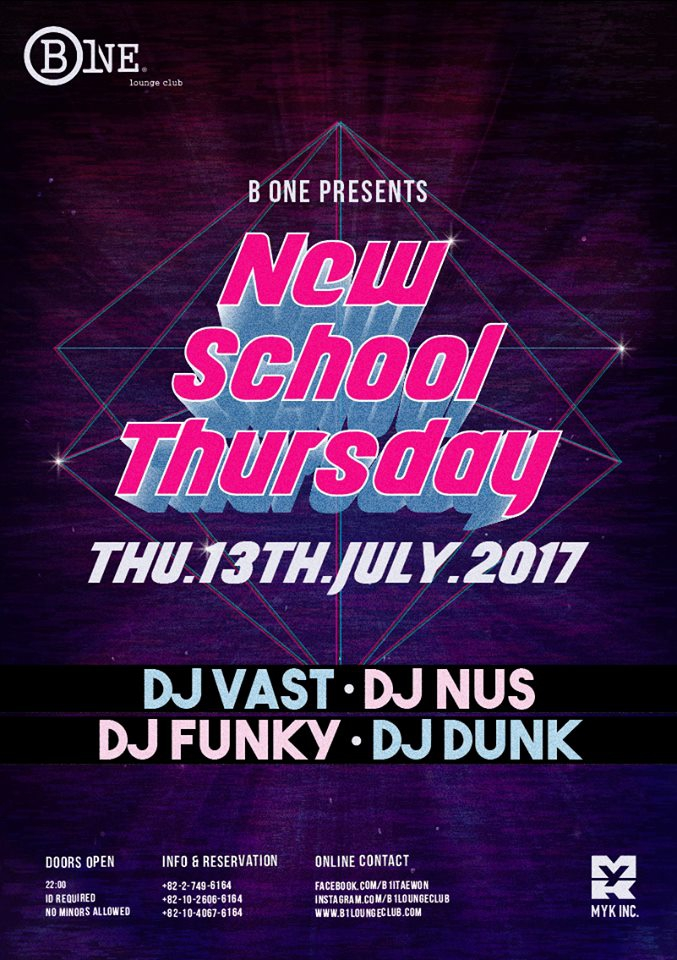 New School Thursday