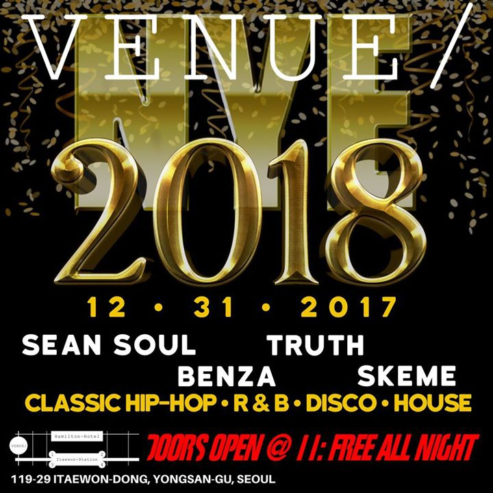 New Years Eve at Venue