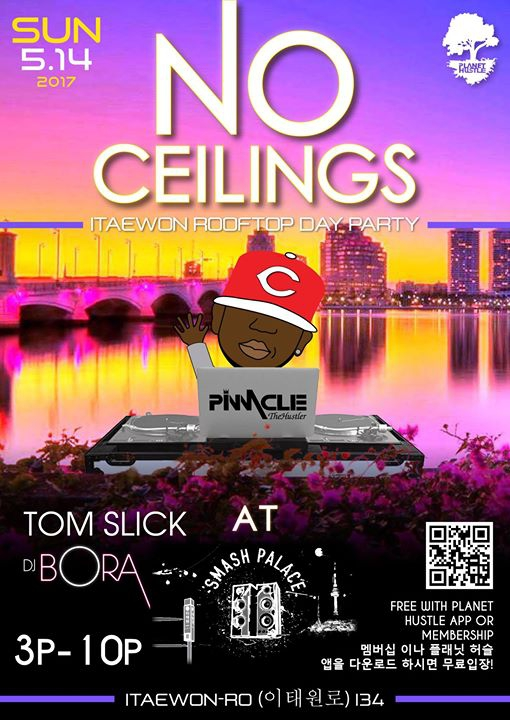 No Ceilings - Itaewon Rooftop Day Party!