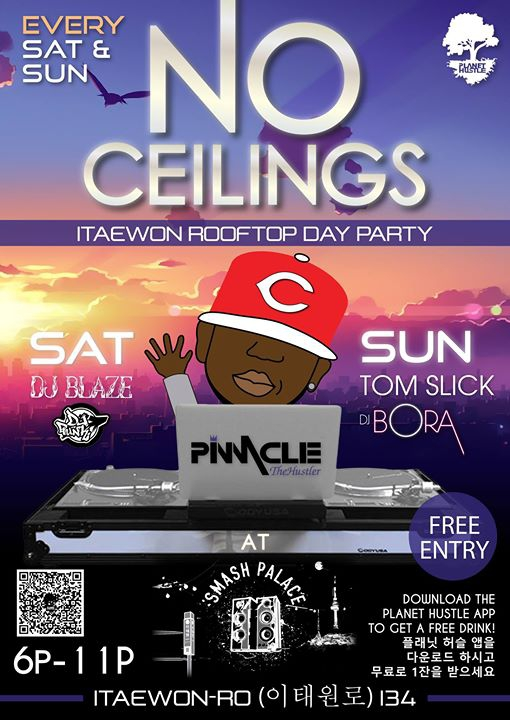 No Ceilings Rooftop Party!