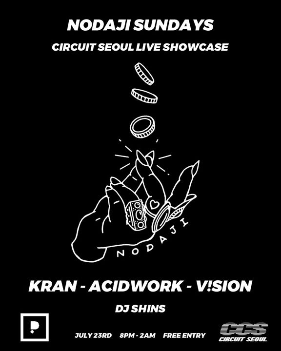 Nodaji Sundays Circuit Seoul Live Showcase