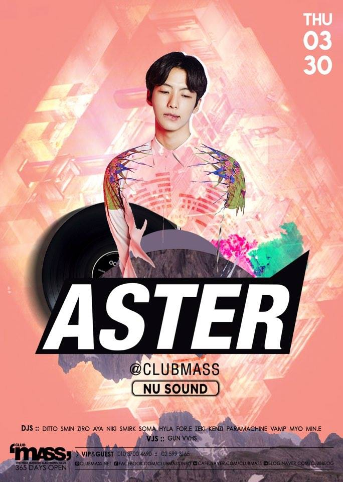 NUSOUND PARTY GUEST DJ ASTER