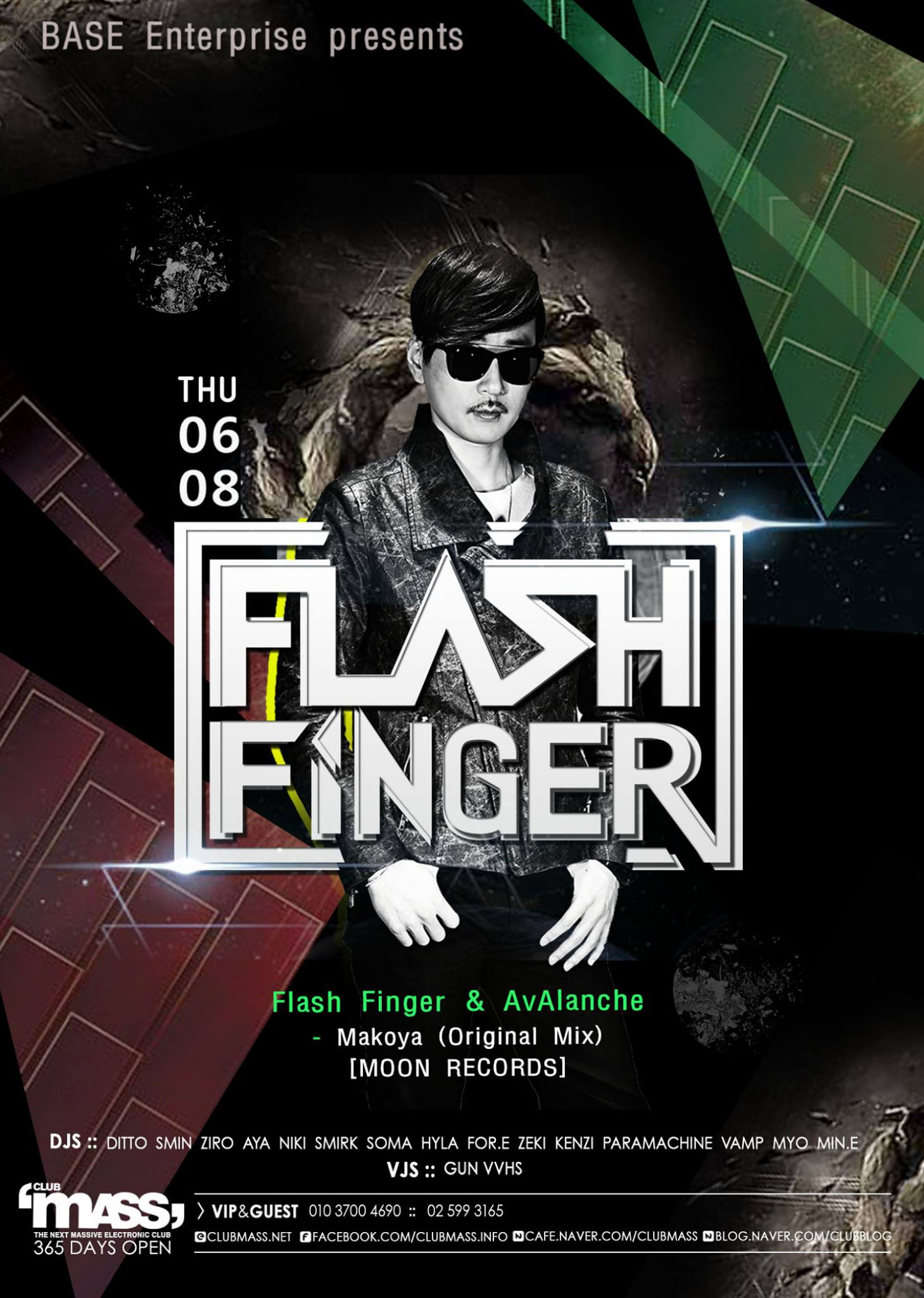 NU SOUND PARTY GUEST DJ_FLASH FINGER