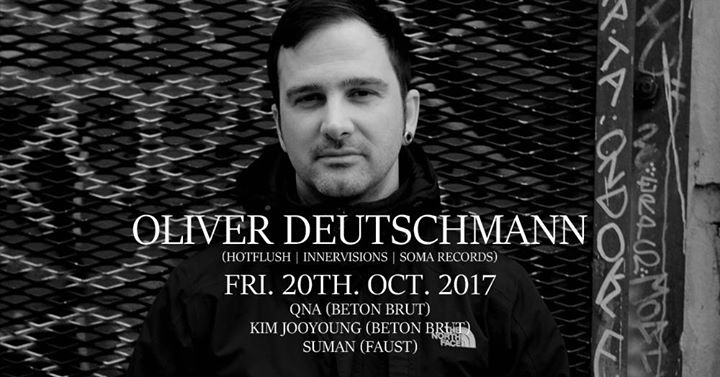 Oliver Deutschmann (Hotflush, Innervisions, Soma Records)