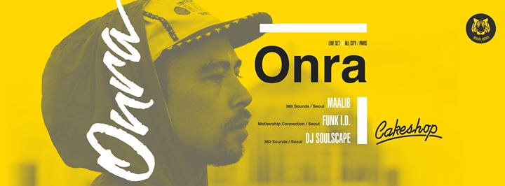 Onra (All City/Paris) live set at Cakeshop