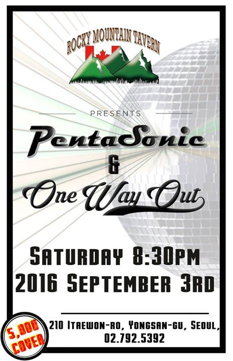 Pentasonic & One Way Out (Rocky Mountain Tavern)