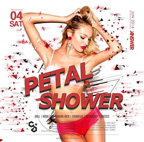 Petal Shower at Club Answer
