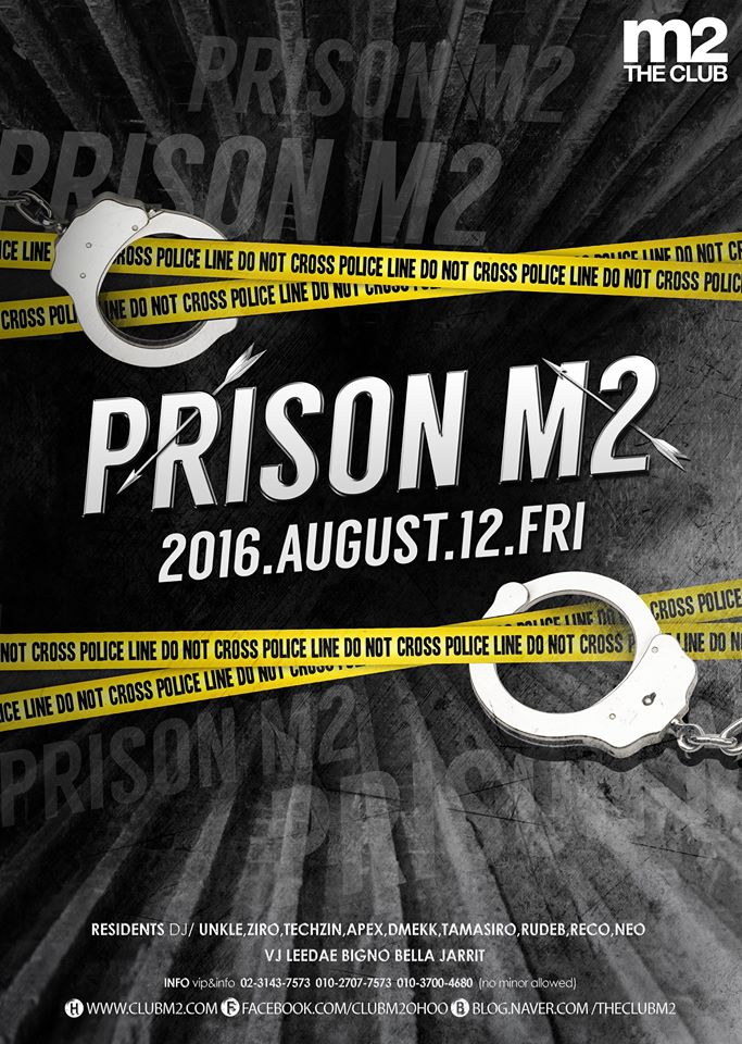 Prison Party at Club m2