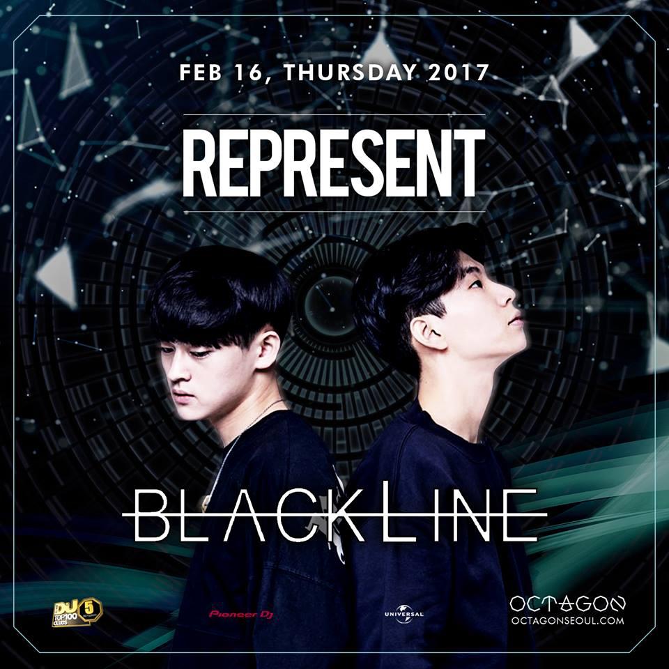 REPRESENT X BLACKLINE