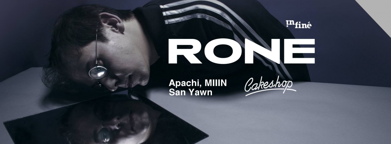 RONE ( Infine/ Paris) at Cakeshop