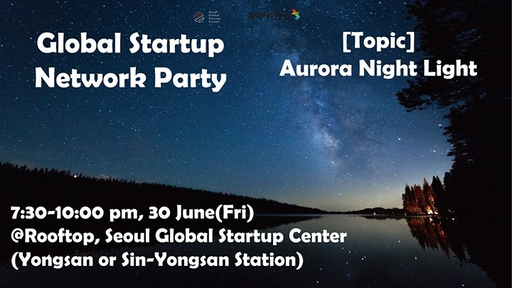 Roof Top Networking Party_Aurora Night Light