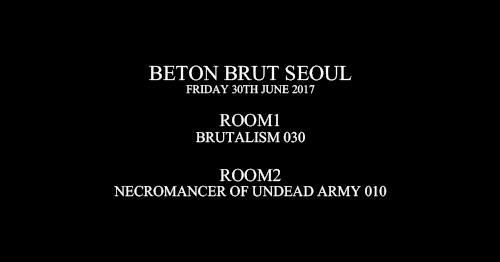 Room1: Brutalism 030 / Room2: N.U.A 010