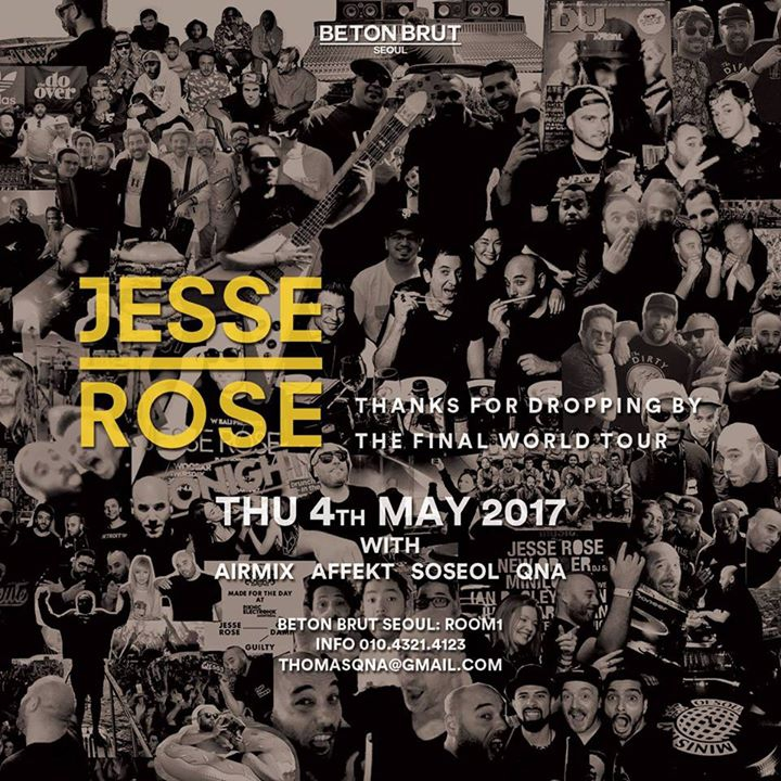 Room1: Jesse Rose - The Final World Tour
