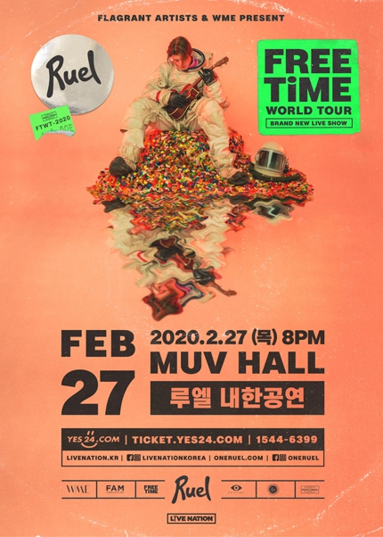 Ruel concert (2020 Free time World tour Seoul)
