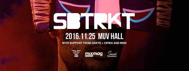 Sbtrkt (UK) DJ Set in Seoul