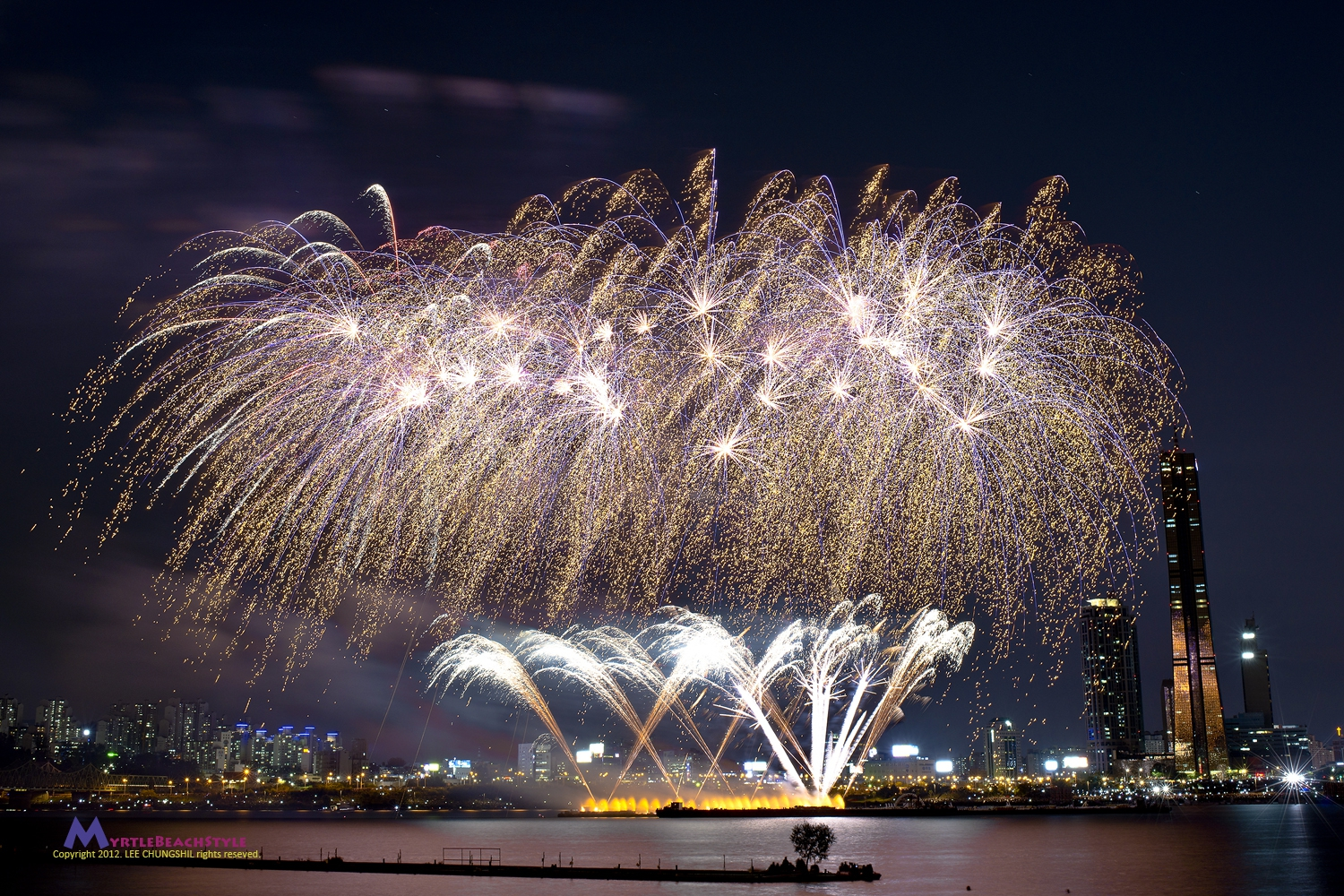 Seoul International Fireworks Festival 2016