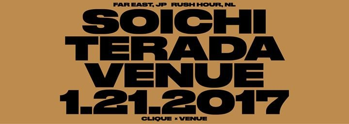 Soichi Terada Live (Far East, Rush Hour / Tokyo) at Venue/