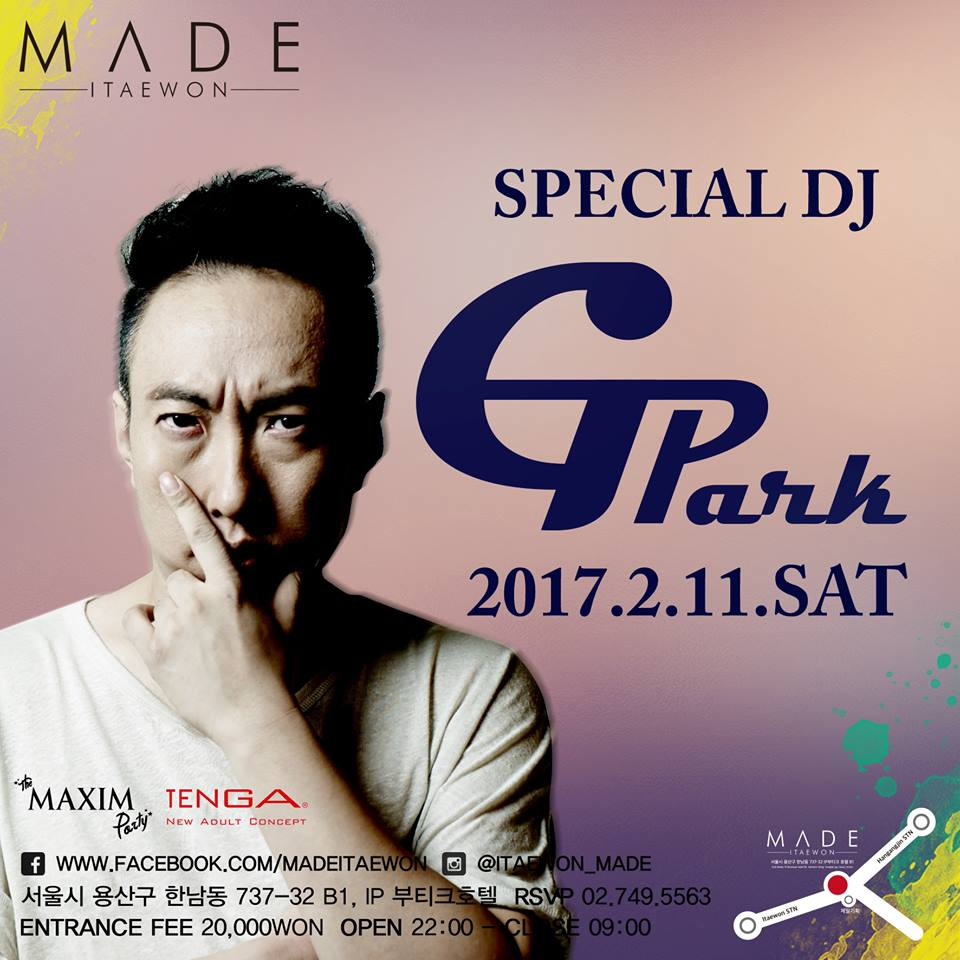 Special DJ - G Park at Club Made