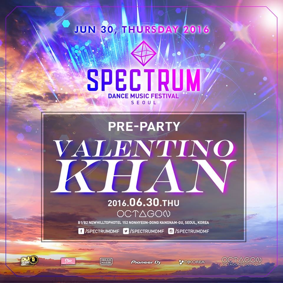 SPECTRUM FESTIVAL SPECIAL PRE-PARTY with VALENTINO KHAN