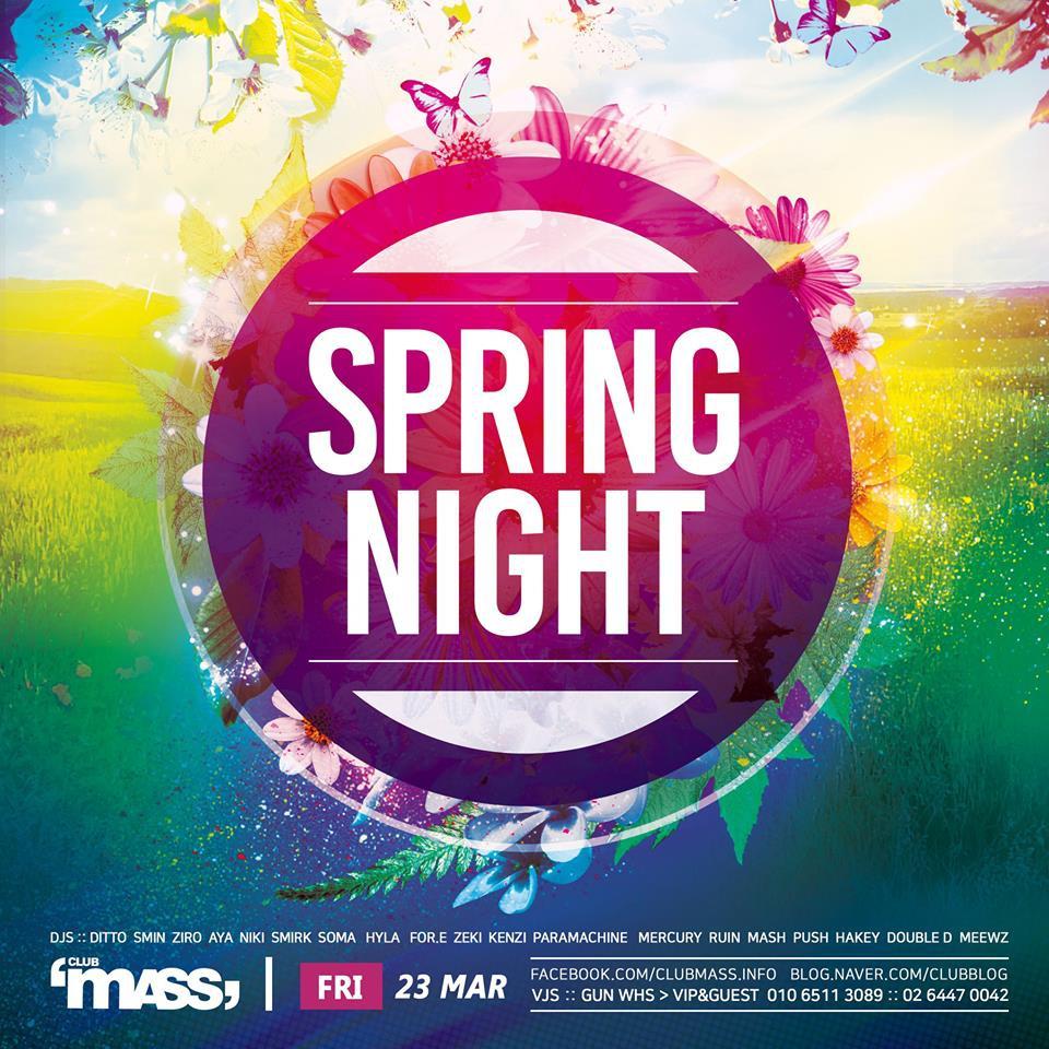 Spring Night at Club Mass