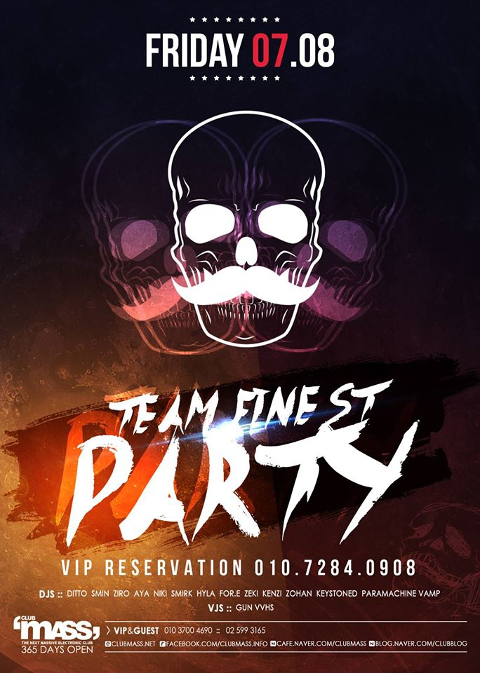 TEAM FINEST PARTY at Club Mass